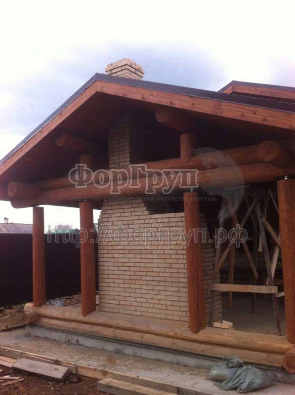 Дом из сруба в Нижнем Тагиле ООО ФорГруп